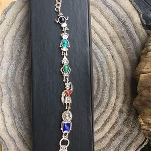 Vintage Totem Pole Bracelet